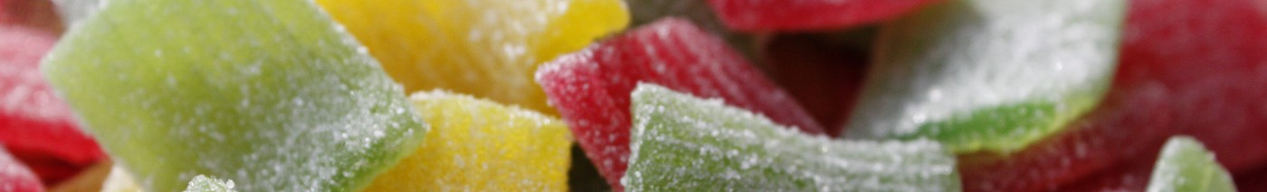 Haribo gummi fruity sour pasta candy
